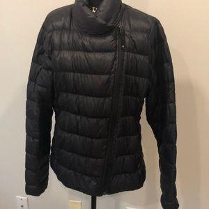Athleta Size Large Black Goose Down Jacket